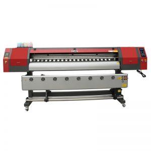 1,8 m pločio formato dažų sublimacinis spausdintuvas su trimis dx5 spausdinimo galvutėmis marškinėlių spausdinimui WER-EW1902