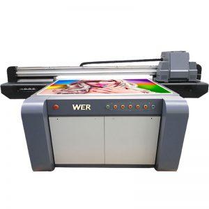 3D efektas UV plokščias spausdintuvas, keramikos spausdintuvas, plytelių spausdinimo mašina Kinijoje WER-EF1310UV