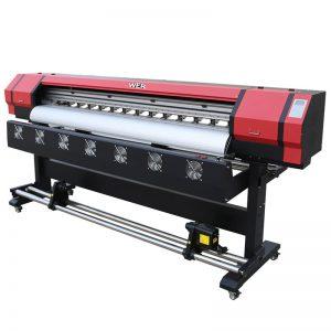 6 pėdų spausdinimo vaizdo WER-ES1901 DX5 / DX7 galvos ekologinio tirpiklio spausdintuvas Guangžou tiekėjas