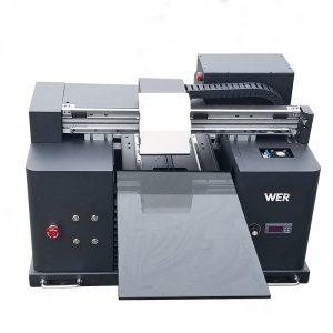 A4 dydis LY A42 skaitmeninis automatinis telefono dėklas UV spausdintuvas su plokščia spausdintuvu UV plokščias spausdintuvas su 6 spalvų spausdinimu WER-E1080UV