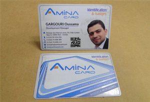 Verslo vardo kortelė, pririšanti pavyzdį iš darbastalio UV spausdintuvo -A2 dydžio WER-D4880UV