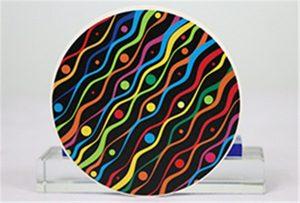 Rioch head uv WER-G2513UV keramikos spausdinimo pavyzdžiai