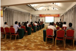 "Grupės susitikimas ""Wanxuan Garden Hotel"", 2015 m"