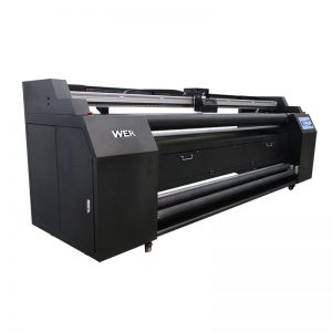 WER-E1802T 1,8 m tiesiai į tekstilinį spausdintuvą su 2 * DX5 sublimaciniu spausdintuvu