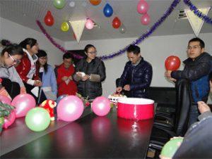 Darbuotojo gimtadienis 2015 m
