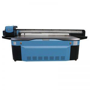 spalvotas CMYK LCLM baltasis lakuotas UV plokščias spausdintuvas 3D WER-G2513UV