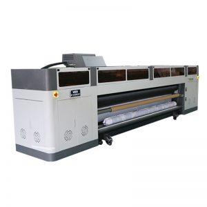 """didelės raiškos didelės spartos skaitmeninės rašalinės spausdintuvo mašinos su """"ricoh gen5"""" spausdinimo galvutės UV brėžinys WER-G-3200UV"""