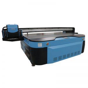 2.5m * 1.3m spausdinimo dydis 3D reljefinis Industrial Led UV spausdintuvas metalui, medis, stiklas, keramika, lenta, akrilas, PVC,
